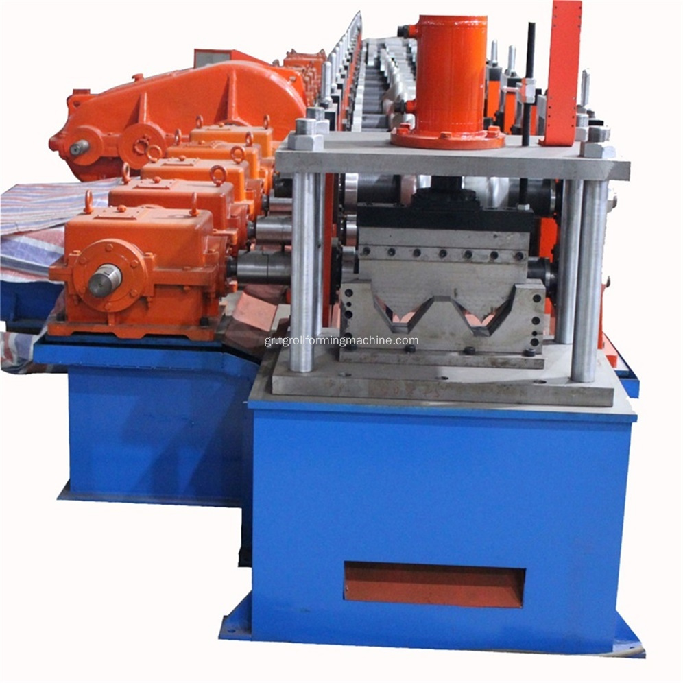 Δύο κύματα Expressway Guardrail Roll Forming Machine