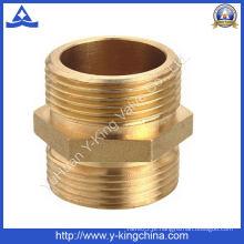 Forjado de bronze reta Hex Nipple (YD-6001)