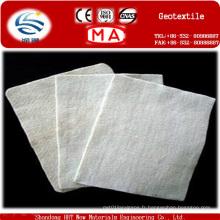Géotextile non-tissé perforé par aiguille courte de polyester de 100%