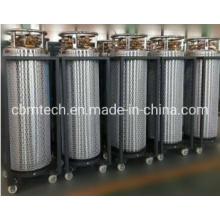 Weld Insulated Cylinder Liquid Oxygen Dewar Liquid Nitrogen Cylinders