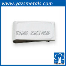 customize money clips, custom high quality stepped border engravable money clip