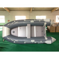 Hot Sale Grey Color Inflatable Motor Boat for Fishing