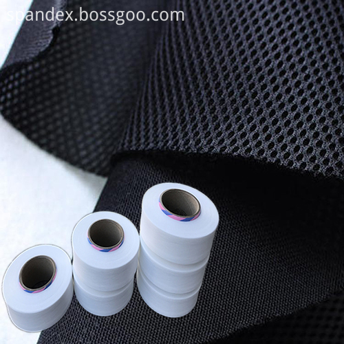 Mesh knitted fabric with 40D spandex