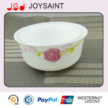 Hot Sale New Design Handpainted Costom Glassware Dinnerware Glassware Footed Bowl