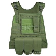 Militar tático colete combate engrenagem engrenagem combate exército colete ISO e padrão do GV