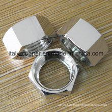 Tuerca hexagonal de acero inoxidable 304
