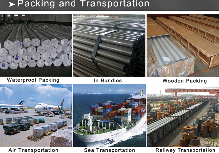 ss pipe packing and transportation