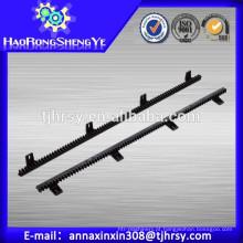 Rack de engrenagem de plástico padrão internacional para porta deslizante