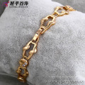 72906- Xuping Jewelry Fashion Hot Sale Mulher Pulseira com 18K banhado a ouro