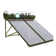 Flat Plate Solar Collector with Copper for Heat Exchange