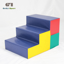 Tapis d'étapes de gymnastique de jeu doux pour enfants