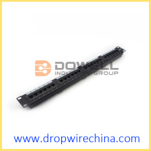 "19"" 24 Port Cat6 Patch Panel"