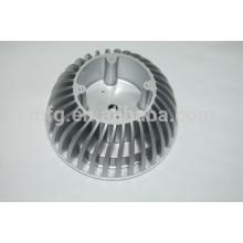 Fabricant de porcelaine design personnalisé moulage sous pression pièces d'éclairage en aluminium