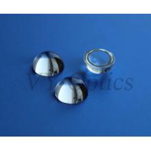 Lente Bk7 óptica de media bola para fibra óptica de China
