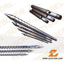 Single Screw and Barrel for Injection Plastic Products