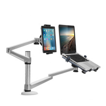 Wholesale Aluminum Alloy Laptop and Tablet Dual Arm Stand Holder