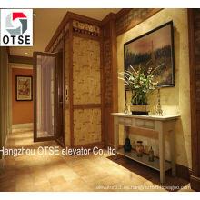 Diseños de elevación de casa de 250kg de elevador de vivienda