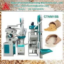 Le plus nouveau design automatique petit moulin à riz machines prix