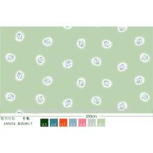 Impressão de tecido 100% poliéster de microfibra escovado para linho