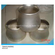 Reductor de tubo de soldadura a tope de acero inoxidable sin costuras