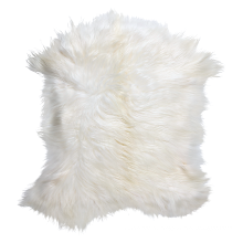 China fur factory wholesale high quality cheap price long hair goat skin