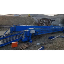 Tunnel Trestle Crane with Electric Trolley