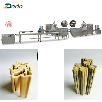 ทันตกรรม Delicious Twisted Dog Chews Extruding Line