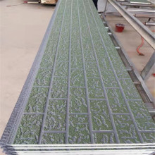 Rigid foam insulation decorative sandwich panels
