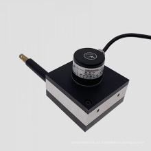 Posición del transductor digital óptico lineal que mide 3000 mm