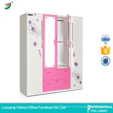 India armários de armazenamento de roupas personalizado armário de aço inoxidável