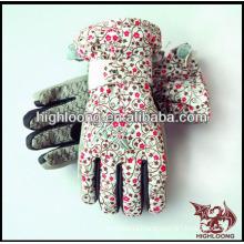fashion and cheap ski glove for women