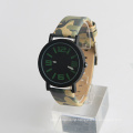 Army green watch army watch, stainless steel back quartz watch for sport