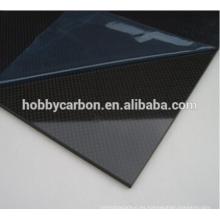 fibra de carbono de alta resistencia hojas de fibra de carbono 2.5mm para c63