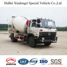 4cbm Dongfeng Euro 4 4X2 Concrete Mixer Truck