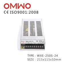 Wxe-250s-24 LED Fonte de alimentação de adaptador de energia de comutação de luz de tira