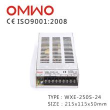Wxe-250с-24 светодиодная лента переключение адаптер Электропитание питания
