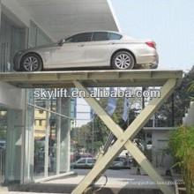 Máquina de elevação hidráulica do carro