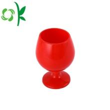 Copa de silicona personalizada copa de copas de vino para el vino