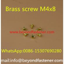 Brass Screw Bolts Pan Head Machine Screw