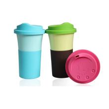 Tasse à café en fibre de bambou sans BPA (BC-C1053)