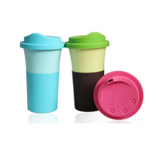 BPA Free Bamboo Fiber Coffee Cup (BC-C1053)