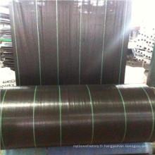 Usine fournir directement le tissu de contrôle des mauvaises herbes, textile, géotextile