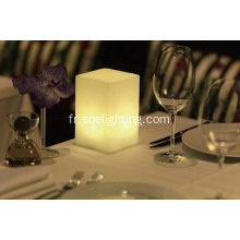 Lampe de table LED RGB