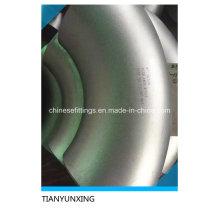 Coude en acier inoxydable Wp317 à 90 degrés en acier inoxydable