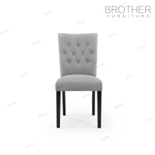Обивка антикварной ткани ворсовые бархат обеденный стул для столовой