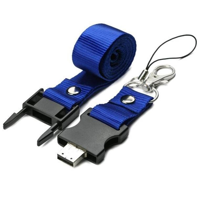 Keychain Lanyard Usb Flash Drive
