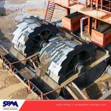 Installation de sable Installation de lavage de sable et de gravier mobile type XSD3016 d'une capacité de 50-120 t / h