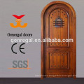 Solid wood villa entrance wood design door