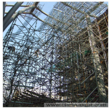 Ringlock Scaffold for Building Structure