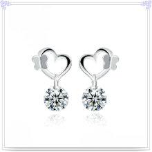925 prata esterlina jóias jóias de prata brinco de moda (se015)